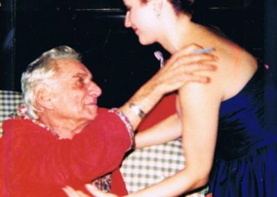 Backstage with Bernstein